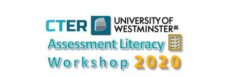 CTER Assessment Literacy Workshop 2020